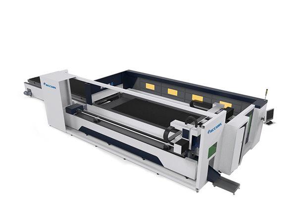 blade lamesa cnc industriya laser pagputol machine lig-on nga nagpadagan sa ubos nga pagmintinar