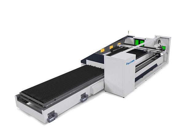 6000mm metal tube laser cutting machine awtomatik nga nagpunting sa taas nga katukma
