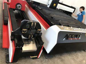ss mga tubo 3d laser cutting machine / 3 axis fiber sheet metal cutter