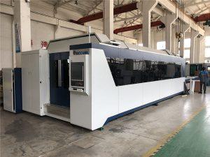 propesyonal nga cnc fiber laser cutting machine 1000w 1500w nga adunay exchange table