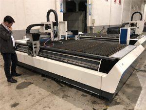 mekanikal nga cnc fiber laser cutting machine nga adunay transmission sa ball screws