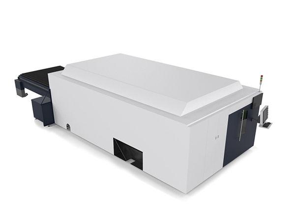 metal sheet / tubes industriyal nga laser pagputol makina doble motor high end cnc nga sistema