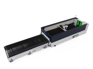 taas nga precision metal fiber laser cutting machine 500w raycools pagputol sa ulo