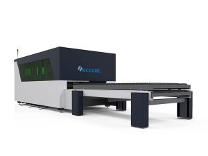 intelihente nga metal fiber laser cutter hapsay nga transmission maayong rigidity
