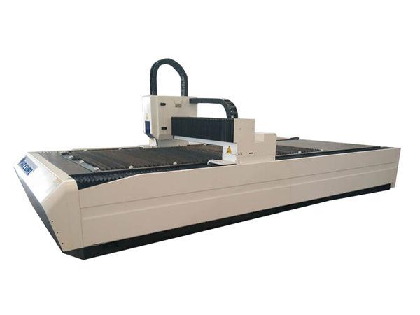 welded frame laser beam cutting machine high output nga gahum nga adunay pagtangtang sa abug nga sistema