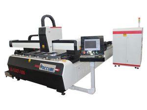 alloy steel plate cnc fiber laser cutting machine doble nga pagmaneho sa taas nga pagkaayo
