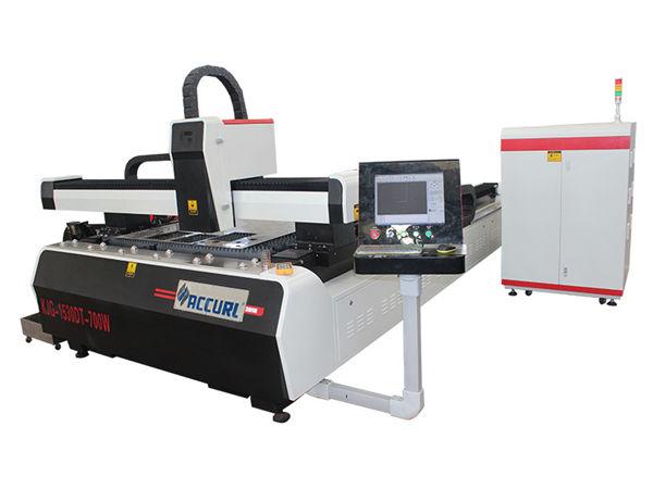 1000w 1500w laser metal cutting machine alang sa malumo nga puthaw, 45m / min