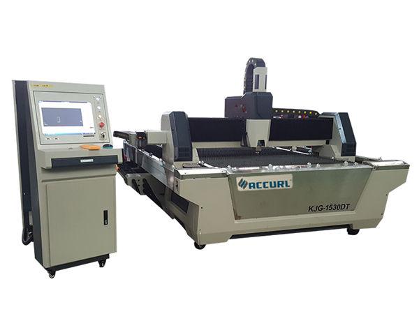 Ang 2000w nga fiber laser cutting gear gear / rack transmission alang sa round tube