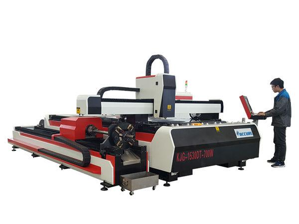 fiber laser metal cutting machine 500w 800w 1kw 800mm / s katulin sa operating