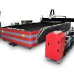 gilakip nga type cnc fiber laser cutting machine 500w / 1000w nga hatag-as nga kusog