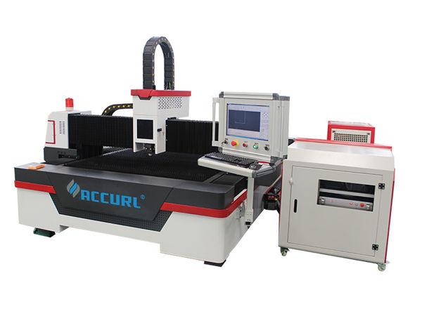 2000w / 3000w fiber laser metal cutting machine ac380v 50hz nga sistema sa pagpugong sa cypcut