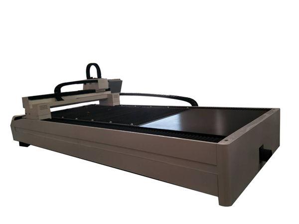 plate / tube metal fiber laser cutting machine nga nagtrabaho lamesa