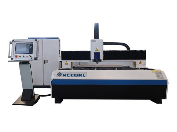 500w katukuran fiber laser cutting machine nga limpyo nga giputol sa tubig nga adunay sistema sa paglamig sa tubig