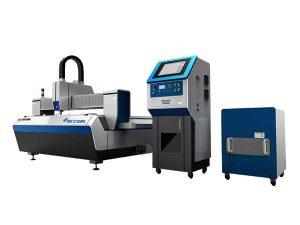 dual drive fiber laser tube cutting machine high cutting speed alang sa pagproseso sa industriya