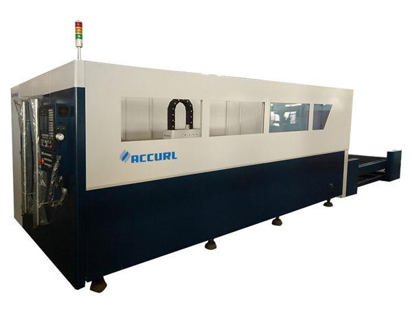 700-2000w fiber metal laser cutting machine nga adunay water cool