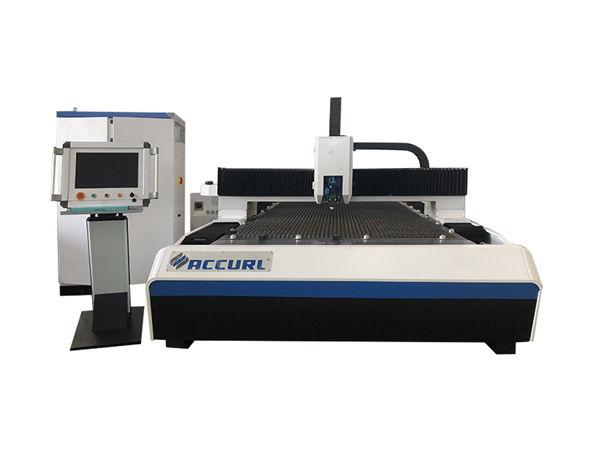 round pipe metal fiber laser cutting machine nga adunay water cooling system