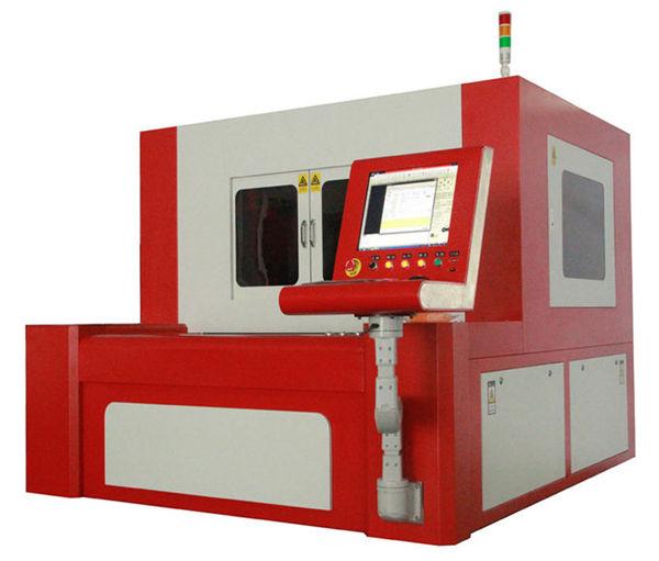 380v 50 / 60hz fiber laser cutting machine alang sa taas nga tukma nga mga bahin sa metal