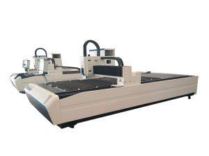 dual nga gigamit nga kagamitan sa pagputol sa laser tube, propesyonal nga cnc laser tube cutting machine